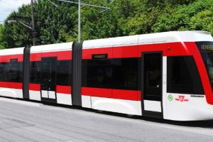 Eglinton LRT train prototype