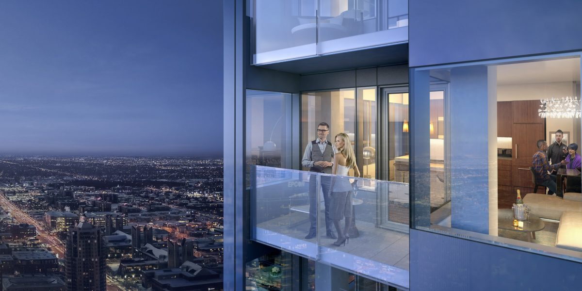 SKY Residences by ICE District
