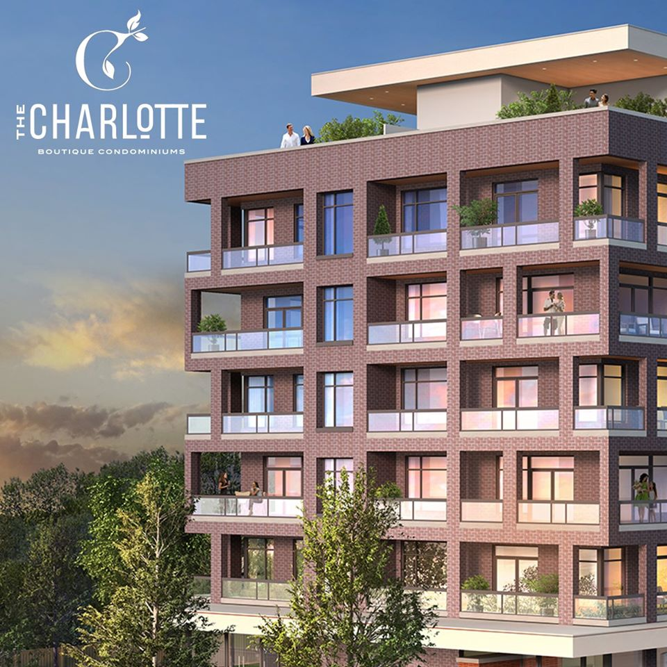 The Charlotte Condos Building