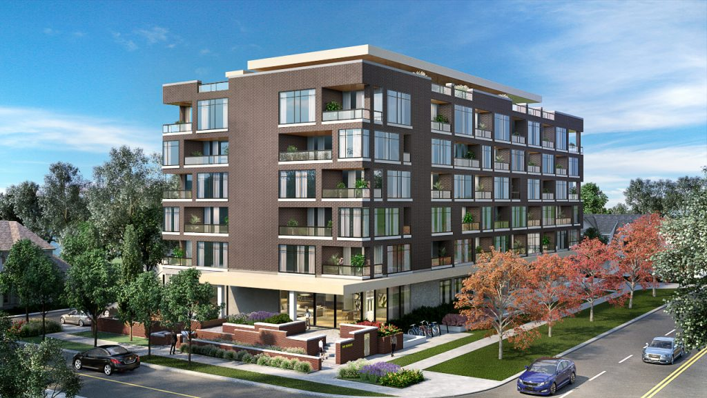 The Charlotte Condos in Whitby - Exterior