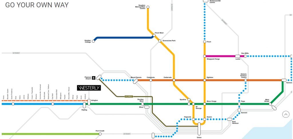 westerly transit map